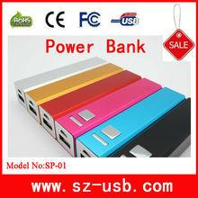 Portable battery charger,mobile phone power bank 2800mAh power bank zhengfang enterprise