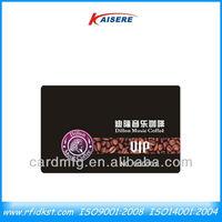 Custom business member plastic card cheap