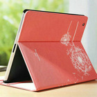 best fancy smart cover rotating stand leather case for ipad 3