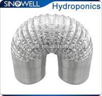 Air duct, flexible duct for hydroponic ventilation