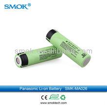 2013 High Quality Panasonic 18650B NCR 3.7V 3400mah Rechargeable Lithium-ion Battery