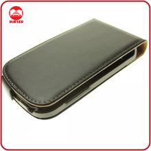 Hot Selling Flip Genuine Leather Case for Blackberry Q10