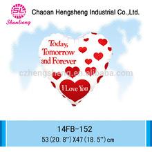 New 18 inch heart shape foil balloon wedding decoration