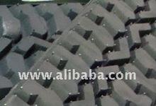 Precured tread - tire retreading material