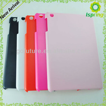 Factory supply , custom hard plastic cover for ipad,for ipad mini smart cover