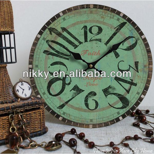 nuovo design orologio da parete meccanismo di buona qualità per la decorazione domestica