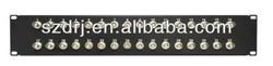 2U 32 ports BNC patch panel