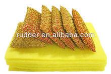 Not damage object surface kitchen cleaning sponge set