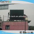 Publicidad al aire libre pantalla led de visualización de video xxx p10 p12/a todo color exhibición llevada desplazamiento de pantalla/la muestra de vídeo