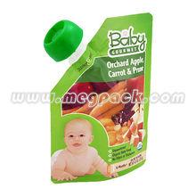 Plastic Pour Beverage Package Spout Pouch
