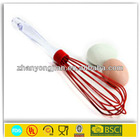 mini egg whisk with plastic handle