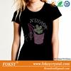 High heel Nevada girl wholesale custom t-shirt rhinestone design for dress