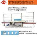 45 arêtes degré ligne droite en verre machine de bordure yd-em-9-45