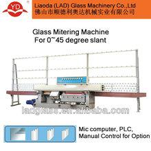 45 degree arris straight line glass edging machine YD-EM-9-45