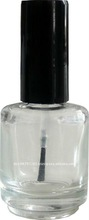 Empty glass bottle 15ml for Nail Polish, Nail Oil and other liquids