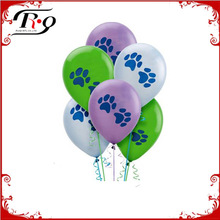 Birthday Supplies Colorful Puppy Claws Ballons
