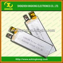 High C rate KK-PL683496 15C 3.7v 2000mAh LiPo battery
