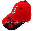 özelleştirilmiş 2015 futbol taraftarları beyzbol şapkası baret
