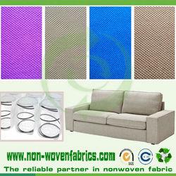 Sofa backing nonwoven spunbond fabric