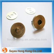 Magnetic snap fastener why plastic can magnet magnet button