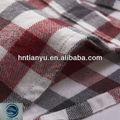 Tianyu 20x10 42x44 bebé ropa caroset melocotón tela tejida 100% de algodón