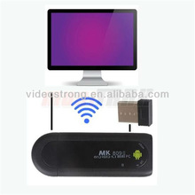 Smart TVc dongle MK809 II Android 4.1 TV Box Mini PC Dongle Bluetooth RK3066 8GB dongle samrt tv