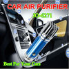 Innovative Car Fresh Air Purifier Oxygen Bar Ionizer with 3,800,000pcs/cm3 Negative ions JO-6271