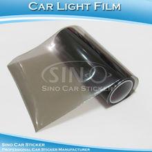 10 Meters Length Smoke Light Black Headlight Protective Car Light Film