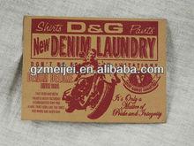 custom brand denim leather patch