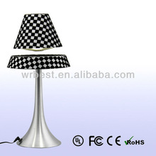 Holiday Promotion! Grid Pattern Design Decorative Indoor Lighting ! Maglev Suspension LED Table Lamp W6082-W1-27