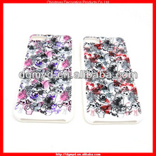 FULL COLOR PRINTING skull silicone cell phone cases for Halloween 2013 (MYD-1613)