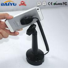 Retractable cell phone desk holder