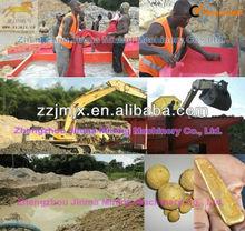 Alluvial gold dredger