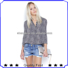 Fashion shirts women ,new style women shirt design .leopard printed fashion ladies long shirts
