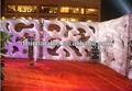 2015 nueva marca de la decoración del partido / decoración de la boda / evento inflable fuente de alimentación de pared