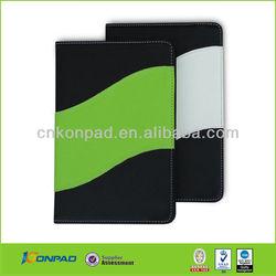 colourful book style leather case for ipad mini