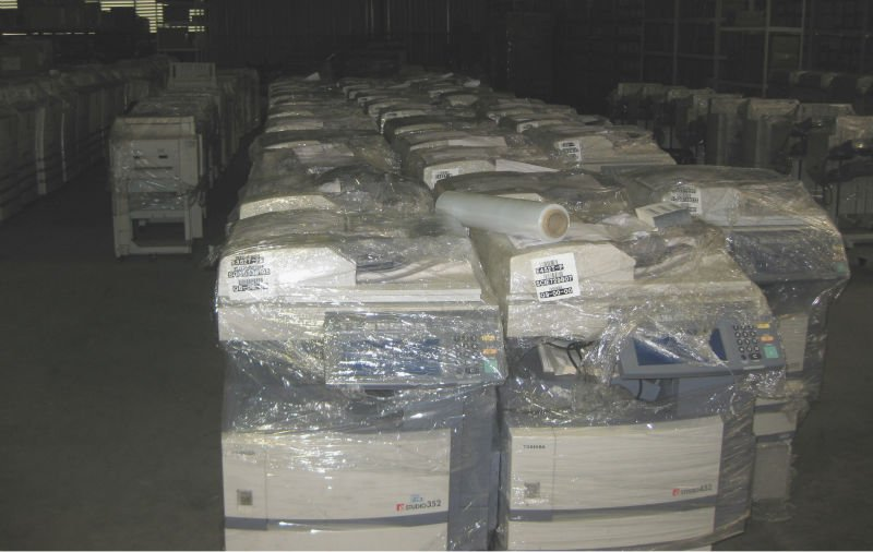Used copiers and spare parts