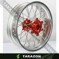 trasero de la motocicleta de aluminio cubo de la rueda para ktm modelo