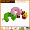 Animals U shape soft cervical cushion for kids neck rest