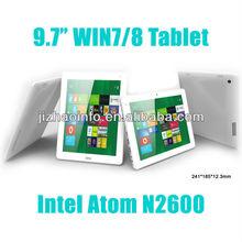 Intel Atom N2600 Dual Core Tablet PC Intel Atom Windows 8 Android 4.0 Intel Atom Windows 8 G+G Capacitive