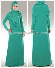 Muslim clothing of fashion abaya jilbab 2013(S3059)
