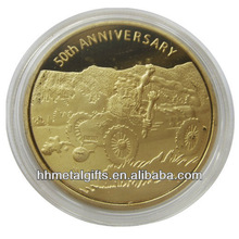 anniversary metal replica old gold coins