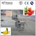 Venta caliente de alta output1000-2000/h en espiral de la industria de jugo de manzana de prensa