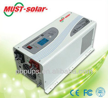 <Must solar >Pure copper transformer, RS232 for management, Max. charge current 70A EP3000 3kw pure sine wave low frequency