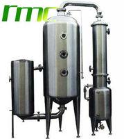 Single-effect juice vacuum evaporator
