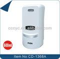 Mains libres liquide/mousse/pompe de pulvérisation 600ml cd-1368a mur distributeur de savon