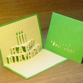 joyeux anniversaire carte popup 3d carte belle carte. Black Bedroom Furniture Sets. Home Design Ideas