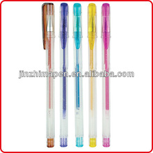 Promotion scented glitter gel pens