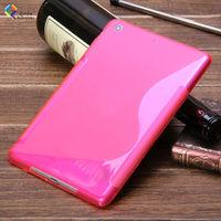 fashion durable silicon case for apple ipad mini