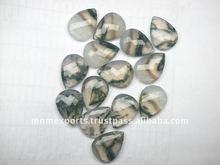 solar moss opal gemstone